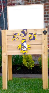 Handmade Coolers LSU Tigers ice chest 4